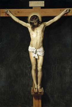 """""""Cristo Crucificado"""" de Diego Velásquez (1632) - Museu do Prado, Madrid"""